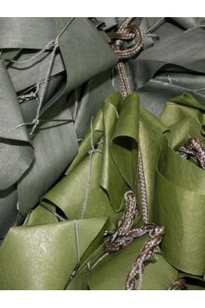 Сетка маскировочная плетеная
